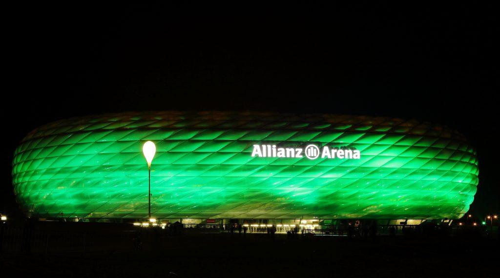St Patricks Day Munich Allianz Arena