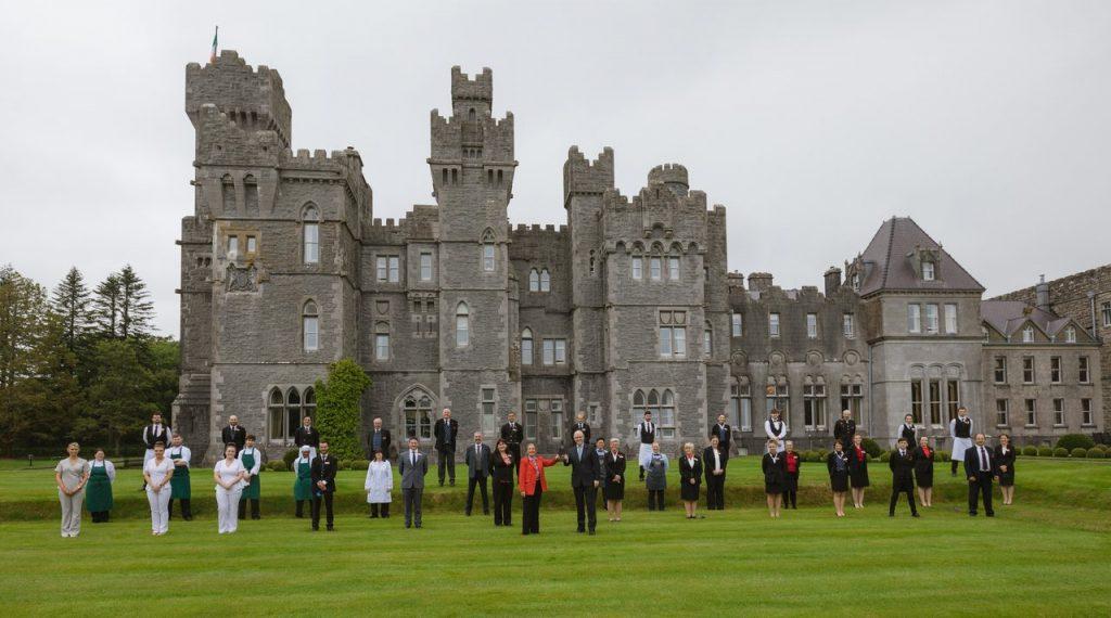 rsz ashford castle team image for t l award july 2020