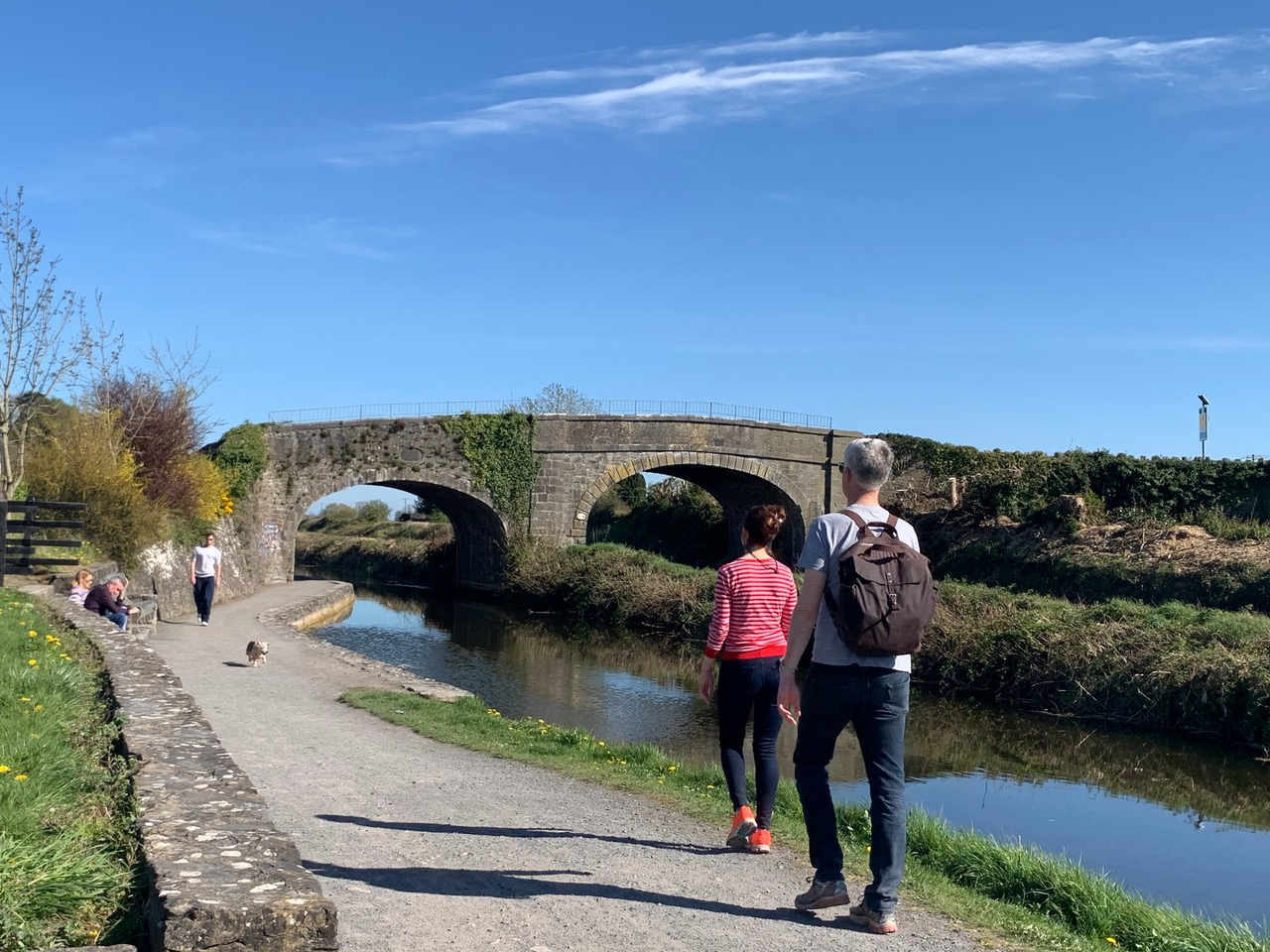 National Famine Way Walkers Royal Canal 002