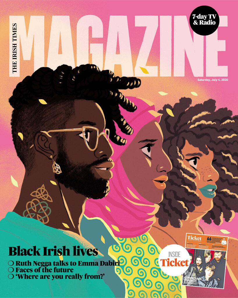 rsz black irish lives cover   irish times magazine sat jul 4 2020