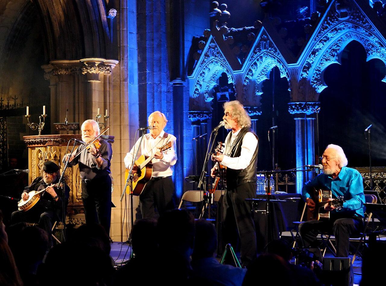 Dubliners in concert