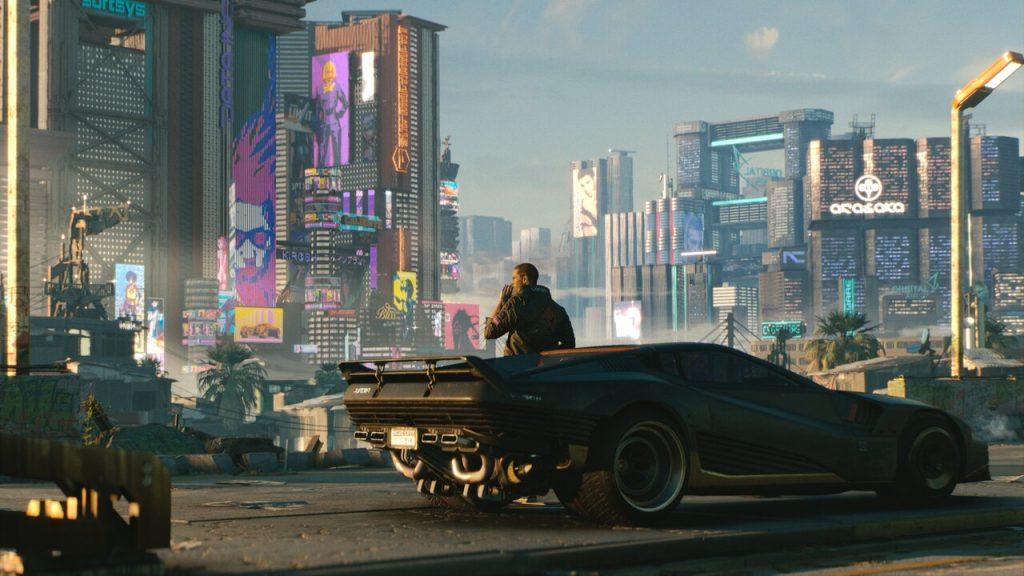 "Gavin Drea takes the reins as ""V"" in Cyberpunk 2077."