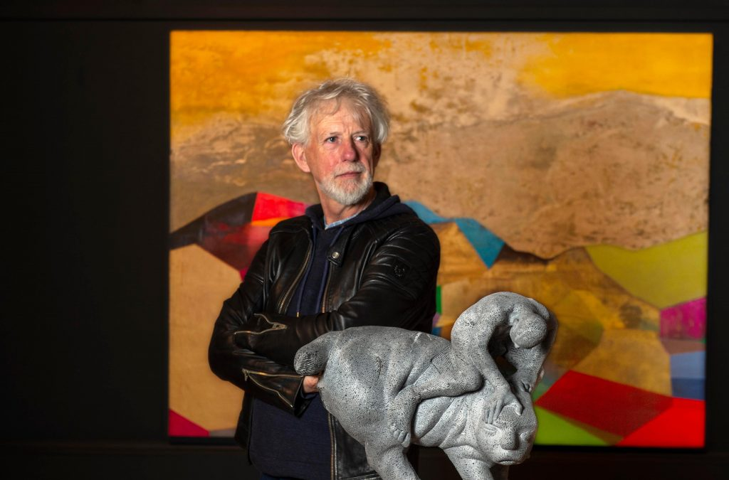 Artist Michael Quane's art will be added to the National Collection.  Pic Michael Mac Sweeney/Provision