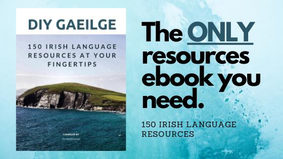 DIY Gaeilge Banner